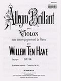 Willem  ten Have - Allegro Brillant op.19