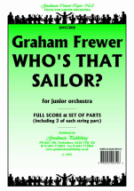 Graham Frewer - Who's that, Sailor