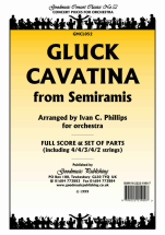 Christoph Willibald Ritter Von Gluck - Cavatina from Semiramis