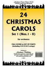 Carol Trad - 24 Christmas Carols Set 1