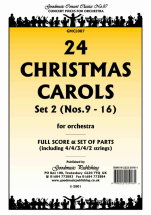 Carol Trad - 24 Christmas Carols Set 2