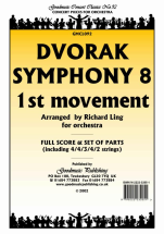 Antonin Dvorák - 1st. Movement from symphony no. 8