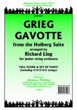 Edvard Grieg - Gavotte from Holberg Suite