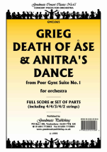 Edvard Grieg - Death of Ase & Anitra's Dance