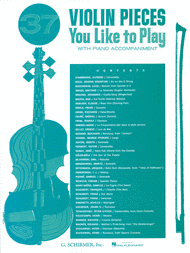 Collection Various - 37 Violin Pieces You Like to Play