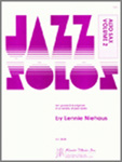 Jazz Solos for Alto Sax Volume 2