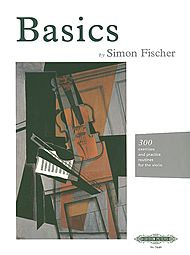 Simon  Fischer - Basics: 300 excercises and practice routines for the Violin